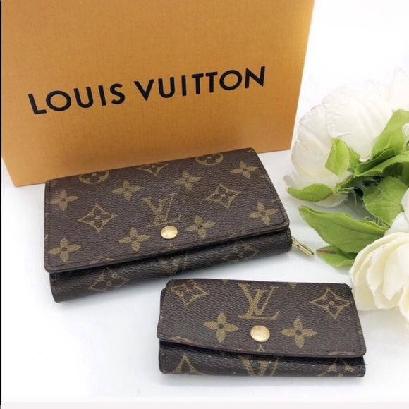 Louis Vuitton Handbags - Louis Vuitton Wallet and key case set